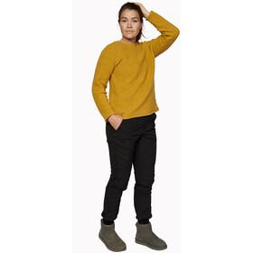 Varg Fårö Veste en laine Femme, mustard gold
